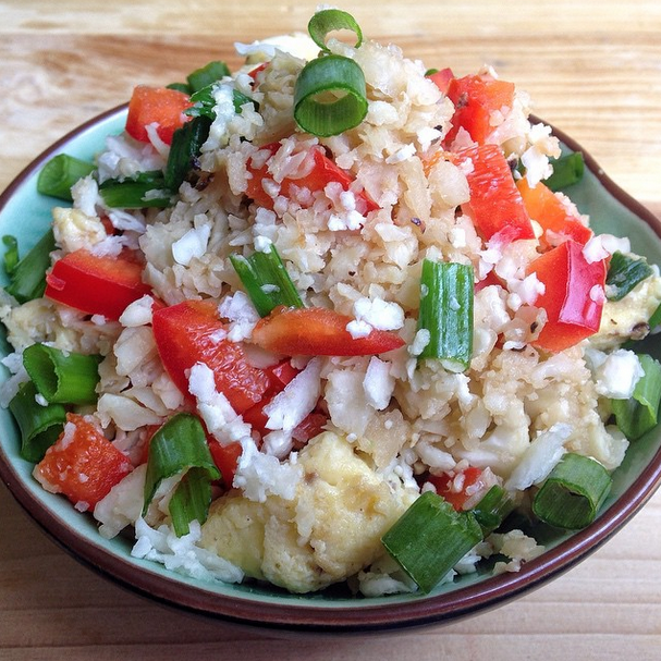 Asian Cauliflower Rice