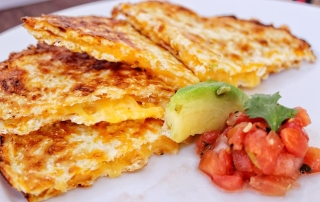 Mexican Cheese Quesadilla
