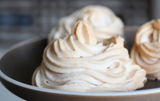 photo of a meringue