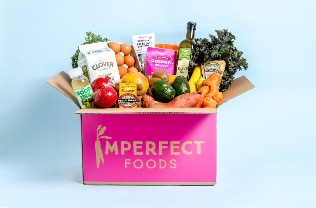 Box full of vegetables by Imperfect Foods